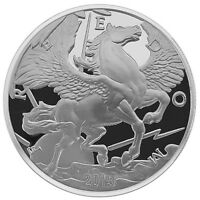 2019 1 Oz Pegasus Silver Round - .999 Fine Silver - Freedom - Modern Ancients
