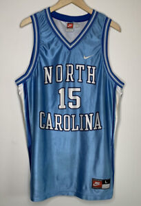 VTG Nike x UNC North Carolina Tar Heels Vince Carter #15 Jersey Made In USA - L