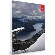 Adobe Photoshop Lightroom 6 Software for Mac/Windows, DVD #65237578