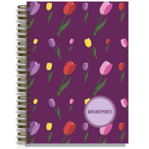 A4 Appointment Book Hairdresser Beauty Salon 3 or 6 Assistant Versions 6 Designs