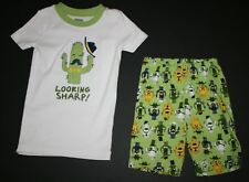 New Gymboree Gymmies 2 Piece Cactus Looking Sharp Shortie PJs Size 4 Year NWT