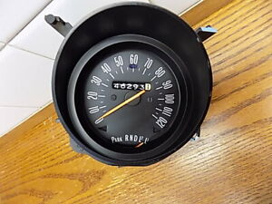 Oct 1973 Buick Century Part Speedometer Cluster