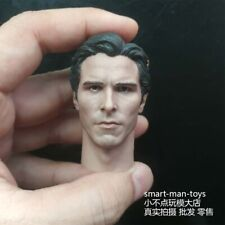 1/6 scale Christian Bale Head Sculpt Batman The Dark Knight fit 12'' Figure Body