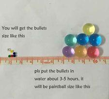 3000Pcs Soft Crystal Bullet Water Gun Paintball Toy Air Pisol Boy CS Game Kids