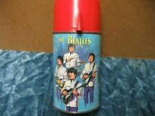 The BEATLES Lunchbox Thermos 1965 NEMS Enterprise Aladdin USA