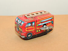 Fire Engine Wind Up Toy made in Japan  (10076)