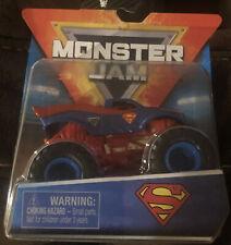 Monster Jam Superman Diecast Car NEW