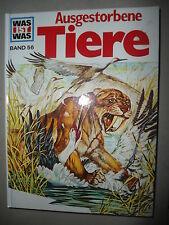 XXXX Was ist was , Ausgestorbene Tiere , Band 56 , Cover D , Tessloff