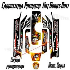 Kit Adesivi Decal Stickers Carrozzeria Hot Bodies D817 Predator Modello Squalo