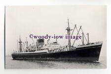 c1268 - Shaw Savill Line Cargo Ship - Cretic - photograph by Clarkson