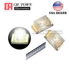 100PCS 0402 (1005) SMD SMT LED White Light Emitting Diodes Ultra Bright USA