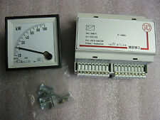 SACI WC4V3E-20-0-100 kW METER WITH MBW3 MODULE-NEW