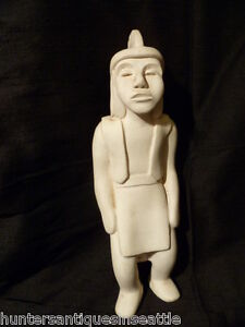 "Original Sculpture clay figurine by Helmi Dagmar Juvonen ""Native"""