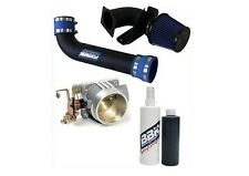 96-04 Ford GT 4.6L BBK Black Cold Air Intake W/Cleaning Kit & 75MM Throttle Body