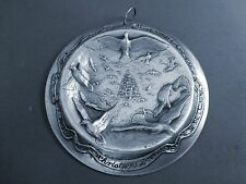 1988 SCULPTURE WORKSHOP CHRISTMAS DOVE ALL STERLING CHRISTMAS ORNAMENT