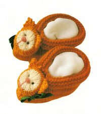 Baby Knitting Pattern for Cat Bootee & Mitten Set