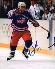 DARBY HENDRICKSON signed TEAM USA OLYMPICS 8X10 photo w/ COA