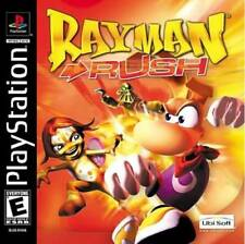 Rayman Rush PS1 Great Condition Complete Fast Shipping