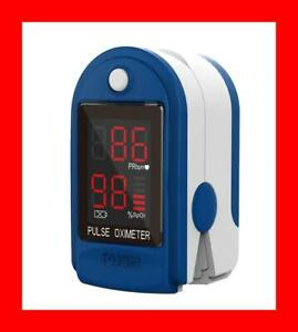 ✅Finger Pulse Oximeter Blood Oxygen PulseOx meter Heart Rate Saturation-FREE S/H