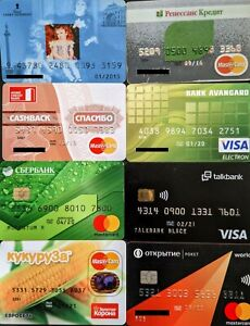 8 MasterCard / Vsa Expired for Collection