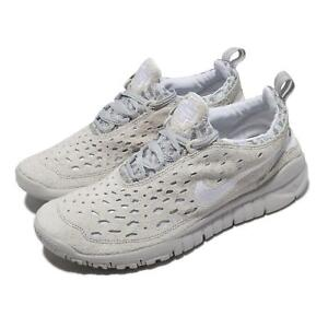 Nike Free Run Trail Neutral Grey White Men Running Shoes Sneakers CW5814-002