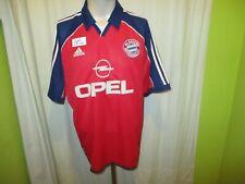 "FC Bayern München Adidas Deutscher Meister Trikot 2000/01 ""OPEL"" Gr.XL TOP"