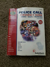 Police Call Frequency Guide by Radio Shack - 2002 Edition - Vol 3&4