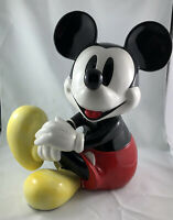 Vintage Schmid Mickey Mouse Musical Figurine (#203) - DAMAGED
