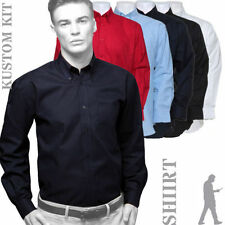 Patternless Long Big & Tall Formal Shirts for Men