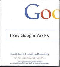 NEW - How Google Works by Schmidt, Eric; Rosenberg, Jonathan