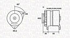 Alternator For FORD LAND ROVER LDV Escort IV Fiesta II III Defender 5024361
