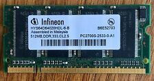 """512MB Memory for Apple 12"""" PowerBook G4 (PC2700S, 1x512MB, Infineon)"""