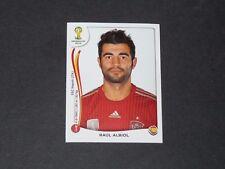 113 RAUL ALBIOL NAPOLI ESPAGNE ESPAÑA PANINI FOOTBALL FIFA WORLD CUP 2014 BRASIL