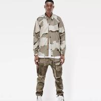 G-star Hedrove Coach Jacket Khaki OA Mens Size UK S *REF57