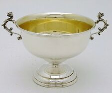 Sterling Silver Dragon Handle Pedestal Bowl Marked Reed & Barton 7oz Style X18