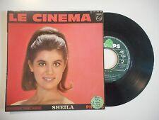 SHEILA : LE CINEMA ♦ 45 TOURS PORT GRATUIT ♦