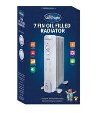 Silentnight 30461 7Fin Oil Filled Radiator Heater 1500W Adjustable Thermostat SR