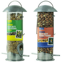 Woodside Medium Heavy Duty Hanging Garden Wild Bird Peanut & Seed Feeder