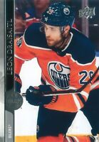 Leon Draisaitl 2020-21 Upper Deck Series 2 Hockey Base Card #326 Edmonton Oilers
