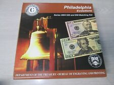 2004 Series PHILADELPHIA Evolutions $20 & $50 Currency Note Matching Set