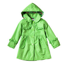 Kids Girls Jackets Girls Outerwear Waterproof Coats Raincoat Hooded Windbreaker