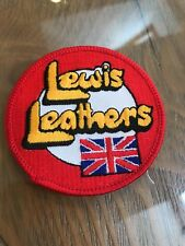 Rare VINTAGE 70s New Old Stock PATCH BADGE lewis Leathers aviakit
