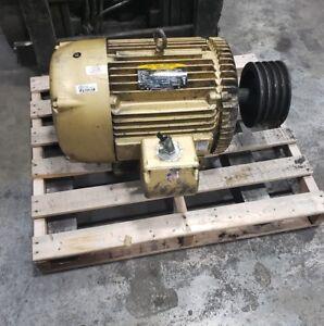Baldor Reliance EM4117T 30HP 326T 1180RPM Motor 3 Phase 230/460  #6500SR