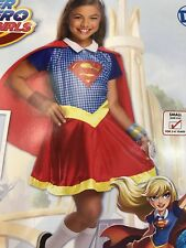 DC Super Hero Girls Costume Supergirl Child Small 4-6 Halloween Dress Up Rubies