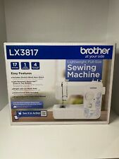 Brother LX3817 17-Stitches Full size Sewing Machine New Singer Heavy Duty Mask