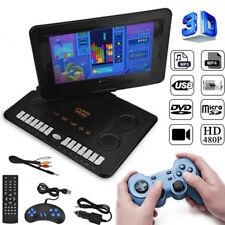 """110-240V 800*480 Tragbarer 13.9"""" HD DVD-Player 16:9 Drehbar LCD-Bildschirm Neu"""
