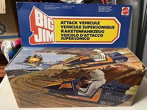 Mattel Big Jim 7642 VEICOLO D'ATTACCO SUPERSONICO NUOVO