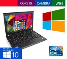 "NOTEBOOK 12.5"" LED LENOVO X220 CORE i5 RAM 4GB HD HDD 250GB WEBCAM PC PORTATILE"