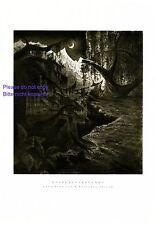 Esprits heure XL PRESSION 1929 W Breuer * Heilbronn magicien forêt enchantée Fantôme +