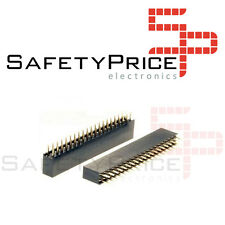 3x GPIO 40 PIN 2X20 PIN HEMBRA FEMALE STRIP 2.54mm Electronica Arduino